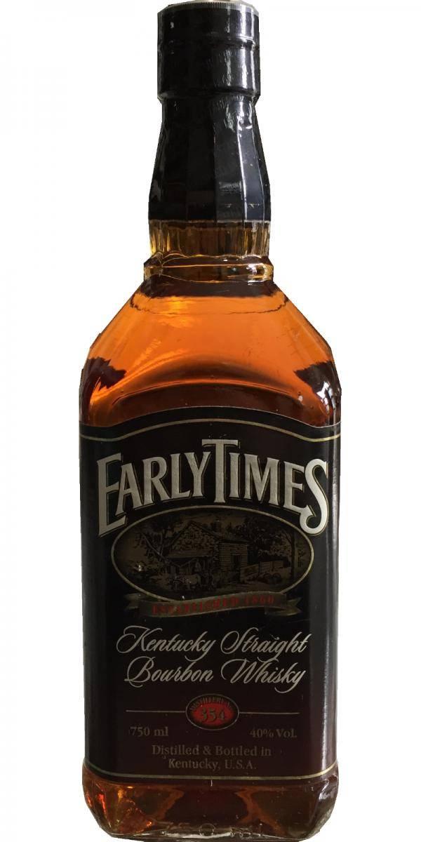 Виски ирли таймс бурбон 0,75л, обзор