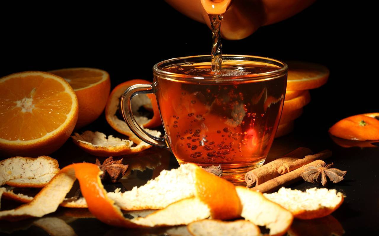 Чай с коньяком – полезный напиток для настоящих ценителей вкуса