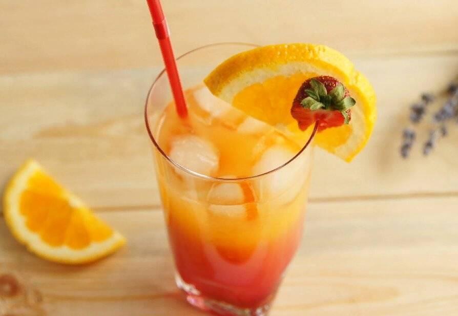 Коктейль текила санрайз — лучший проверенный рецепт коктейля. советы по подаче и оформлению бокала с текила санрайз!
