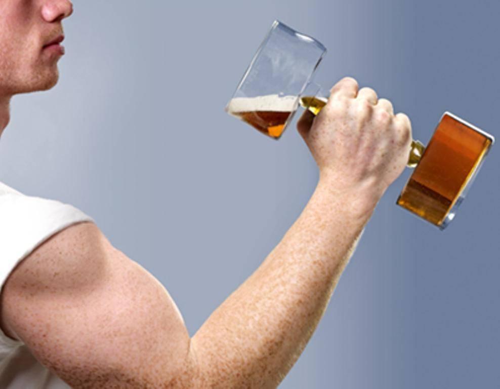 Как алкоголь влияет на мышцы спортсмена?