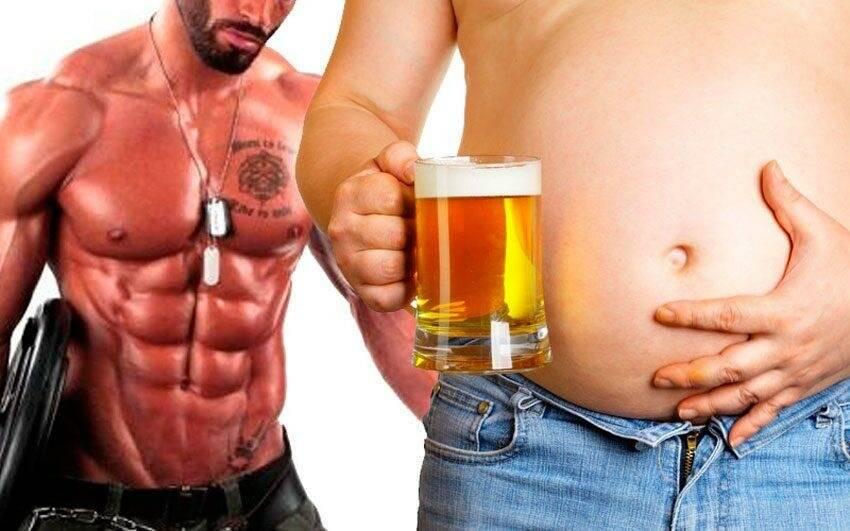 Правда о влиянии алкоголя на рост мышц