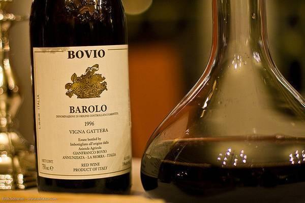 Вино бароло