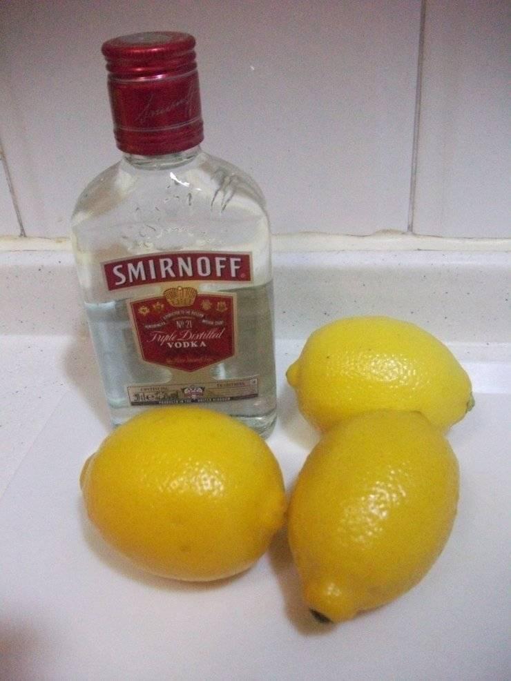 Лимонная водка в домашних условиях: рецепты приготовления