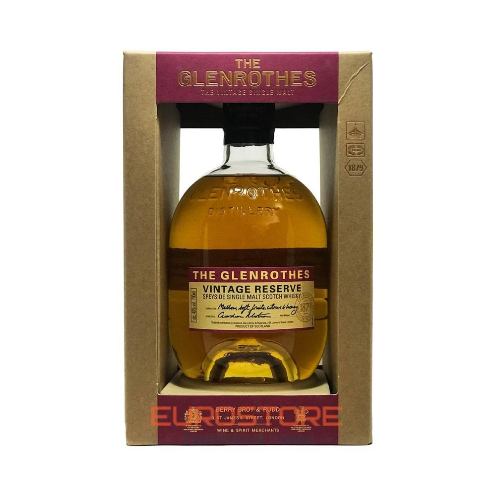 Виски glenrothes, single speyside malt «select reserve», gift box, 0.7 л — гленротс, сингл спейсайд молт «селект резерв», в коробке, 700 мл