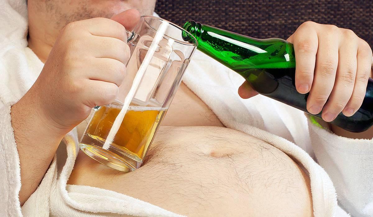 Повышенное нижнее давление и пиво