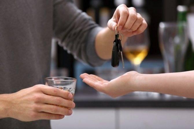 Передача управления автомобилем лицу в нетрезвом виде: что грозит