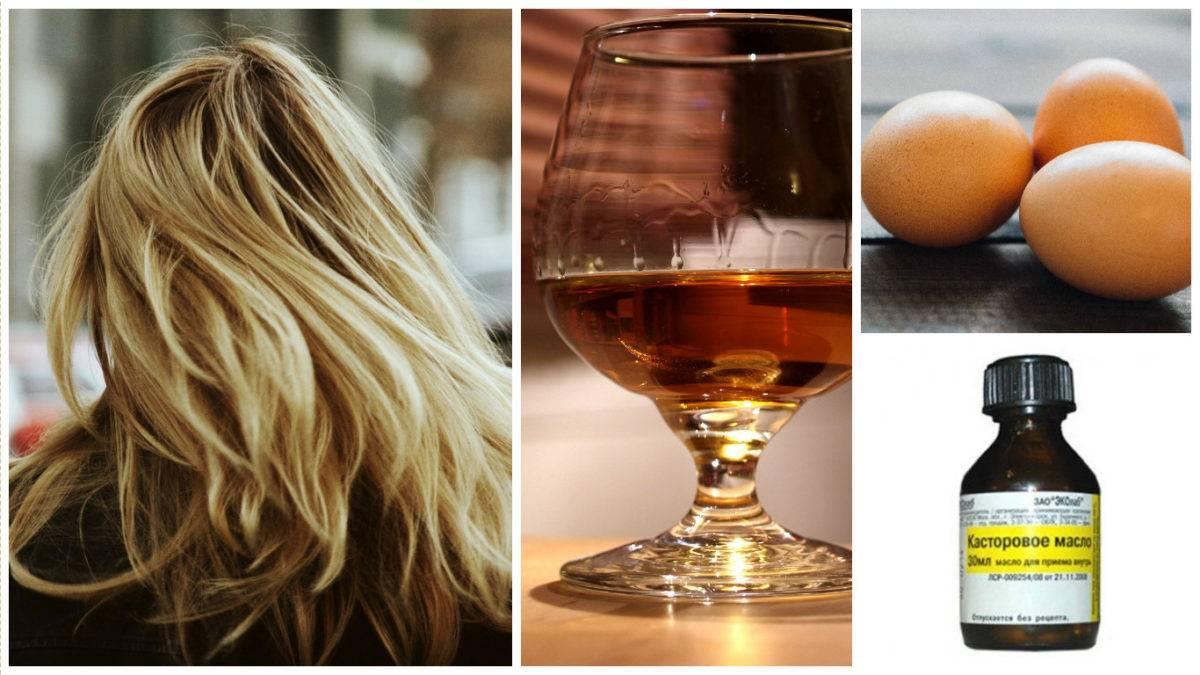 Маска для волос с коньяком: отзывы и рецепты коньячных масок