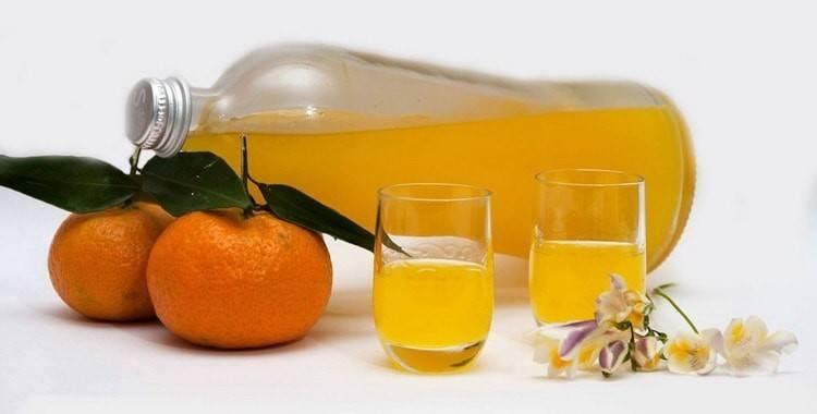 Мандариновая настойка (наливка) рецепты в домашних условиях