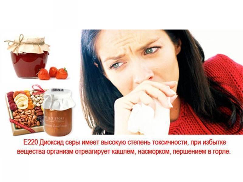 Консервант е220: опасна или нет пищевая добавка, влияние на организм консервант е220: опасна или нет пищевая добавка, влияние на организм