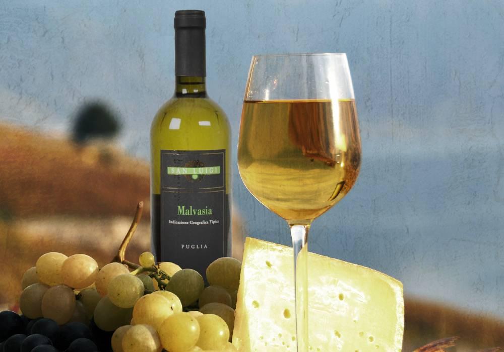 Пино гриджио итальянское белое сухое вино