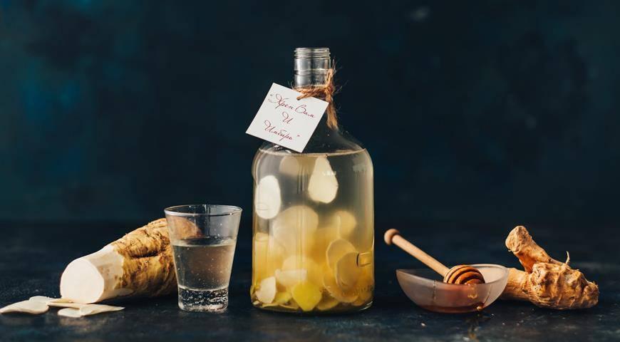 Очень вкусный рецепт имбирной настойки с лимоном и медом