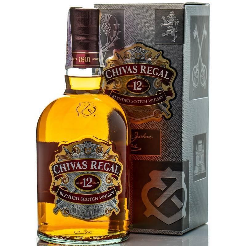 Знакомимся с виски chivas regal