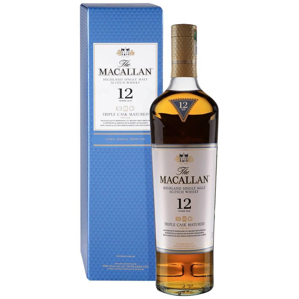 Особенности виски macallan (макаллан)