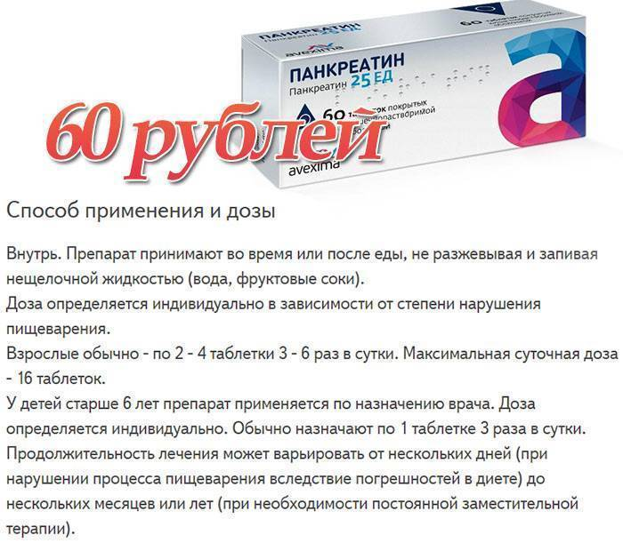 Мезим при отравлении — инструкция по приему лекарства