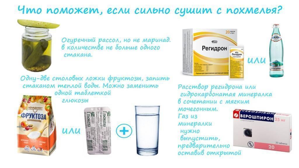 Витамины при похмелье: что поможет