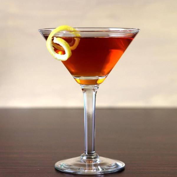 Коктейли с красным вермутом  | любимые коктейли