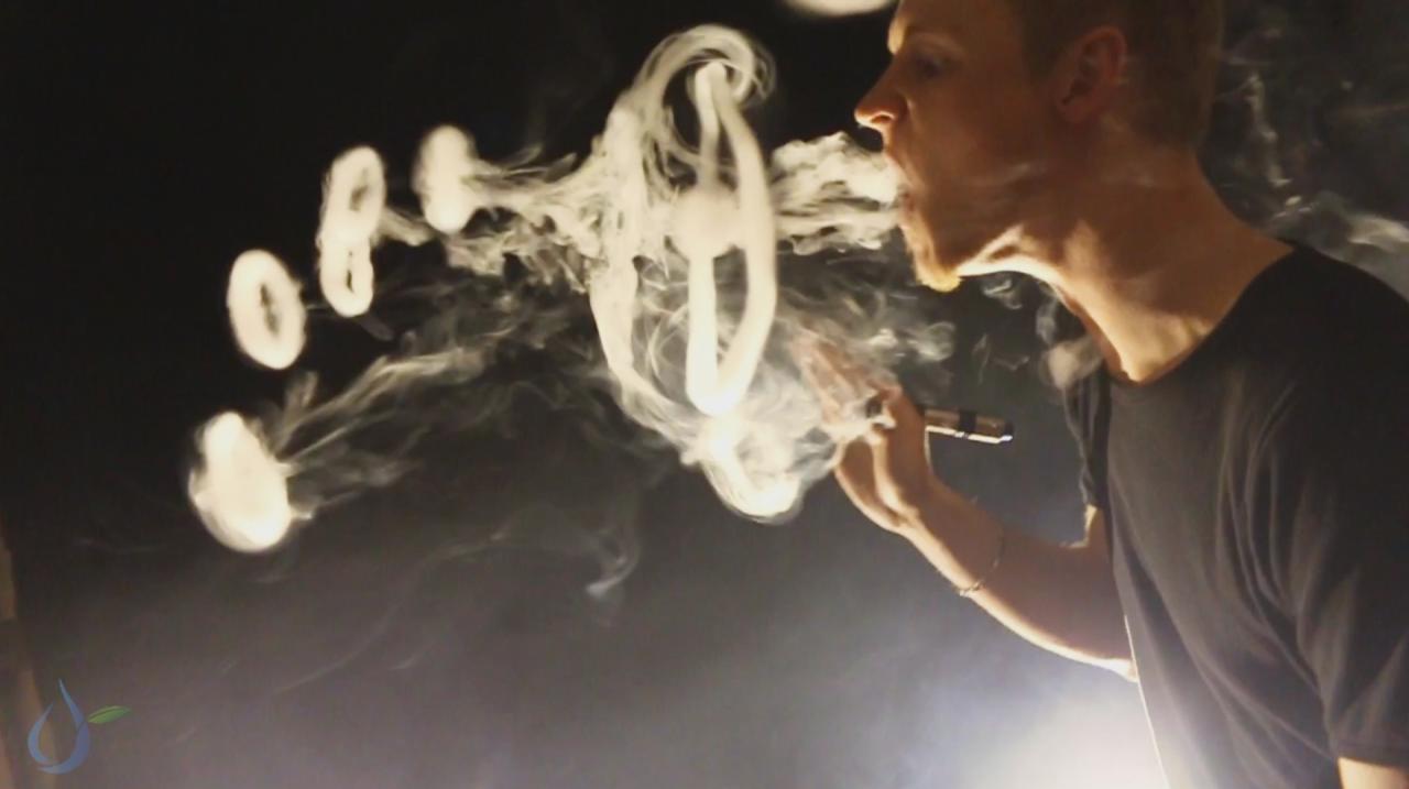 Как научиться делать колечки из дыма