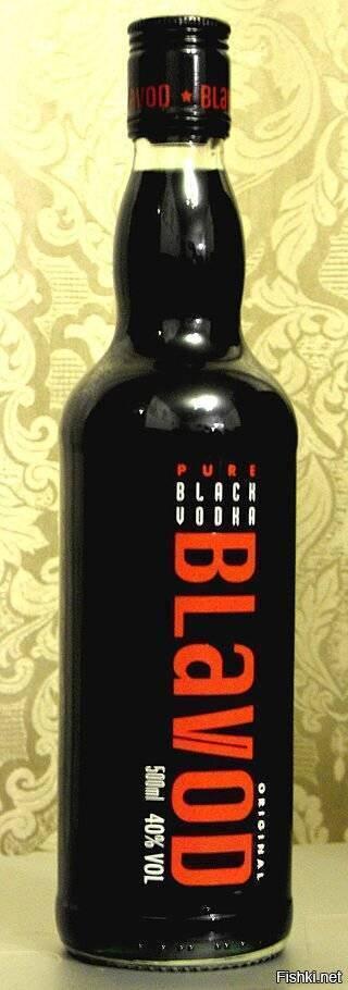 Черная водка blavod: история, состав, рецепт в домашних условиях