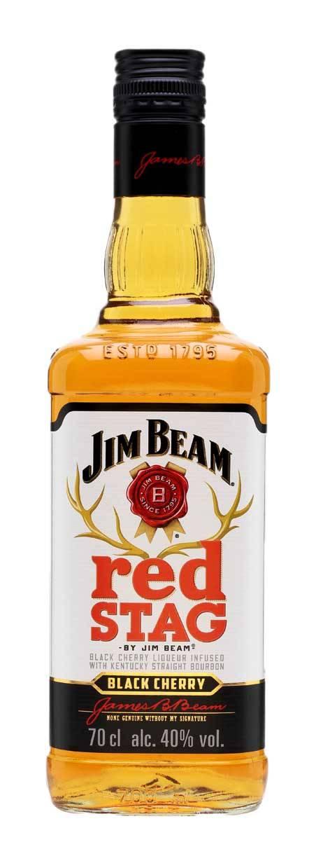 Все о вишневом виски jim beam red stag
